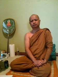 Thai Buddhist Monk Kosam.