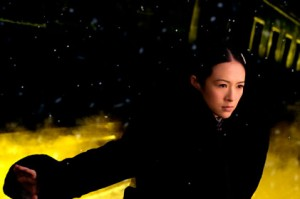 "Ziyi Zhang as as Gong Er, the daughter of Grandmaster Gong Baosen, in ""The Grandmaster."""