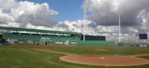 JetBlue Park, spring training home of the Red Sox.