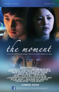 """""""The Moment"""" official movie poster by Teng Vang."""
