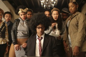 """Minneapolis actress Naomi Ko, above, and at right in a scence from the film, 'Dear White People"""" which debuts at the Sundance Film Festival this week."""