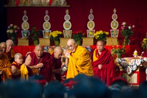 The Losar (Tibetan New Year) ceremony at Augsburg College with His Holiness The Dalai Lama on Sunday, March 2, 2014. (Photos by Nancy Wong)