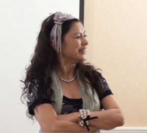 Bestselling author and management consultant Hellen Chen gives love lessons to CEOs and managers at a love seminar.