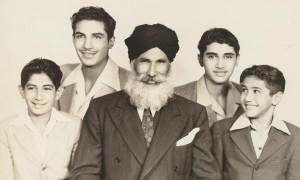 "Puna Singh and Sons, a photo in the digital exhibit of ""Beyond Bollywood: Indian Americans Shape the Nation,"" now showing at the National Museum of Natural History from through Aug. 16, 2015."