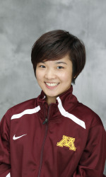 University of Minnesota sophomore swimmer Yu Zhou.