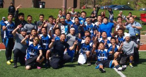 Termination X players and Minneapolis Hmong police celebrate victory over Saint Paul FSU,