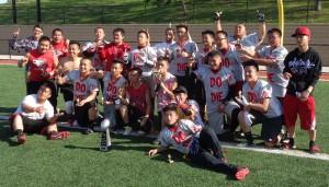 Minneapolis Do or Die, winners 2015 Farview Park Hmong flag football tournament. Congratulations.