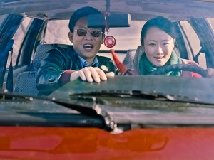 Zhang Yi and Zhao Tao in a scene from director Jia Zhangke's film 'Mountains May Depart'. (Photo courtesy of Kino Lorber)