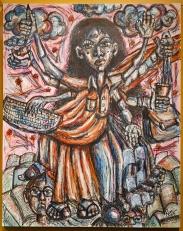 """""""Goddess of Visas"""" by Ruee Gawarikar."""