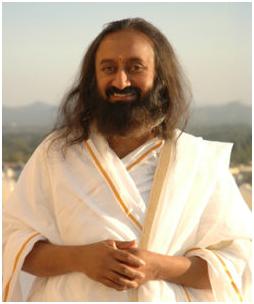 Sri Sri Ravi Shankar, global humanitarian and Guru of Joy.